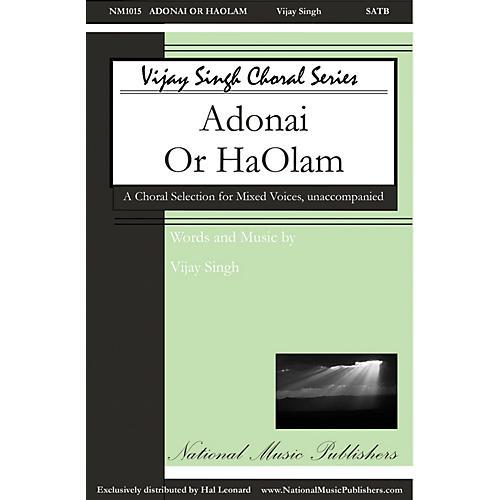 National Music Publishers Adonai 'Or Ha-'Olam SATB a cappella composed by Vijay Singh thumbnail