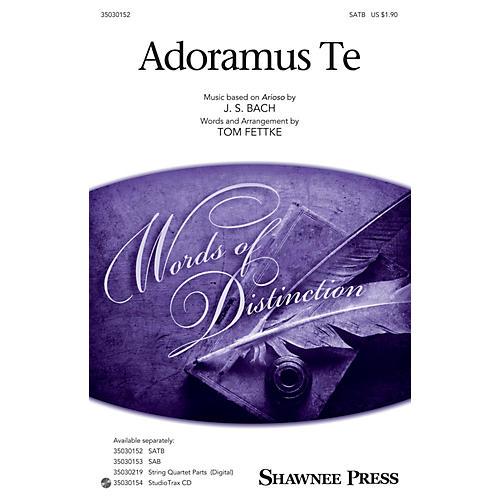 Shawnee Press Adoramus Te SATB arranged by Tom Fettke thumbnail