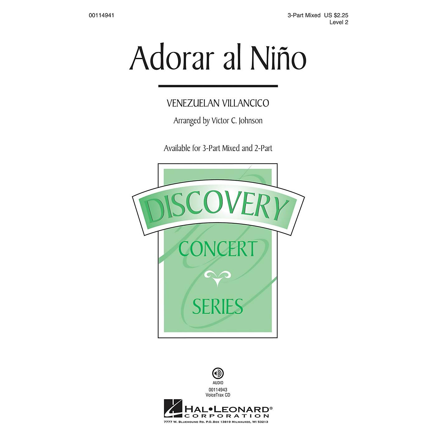 Hal Leonard Adorar al Niño (Discovery Level 2) 3-Part Mixed arranged by Victor Johnson thumbnail