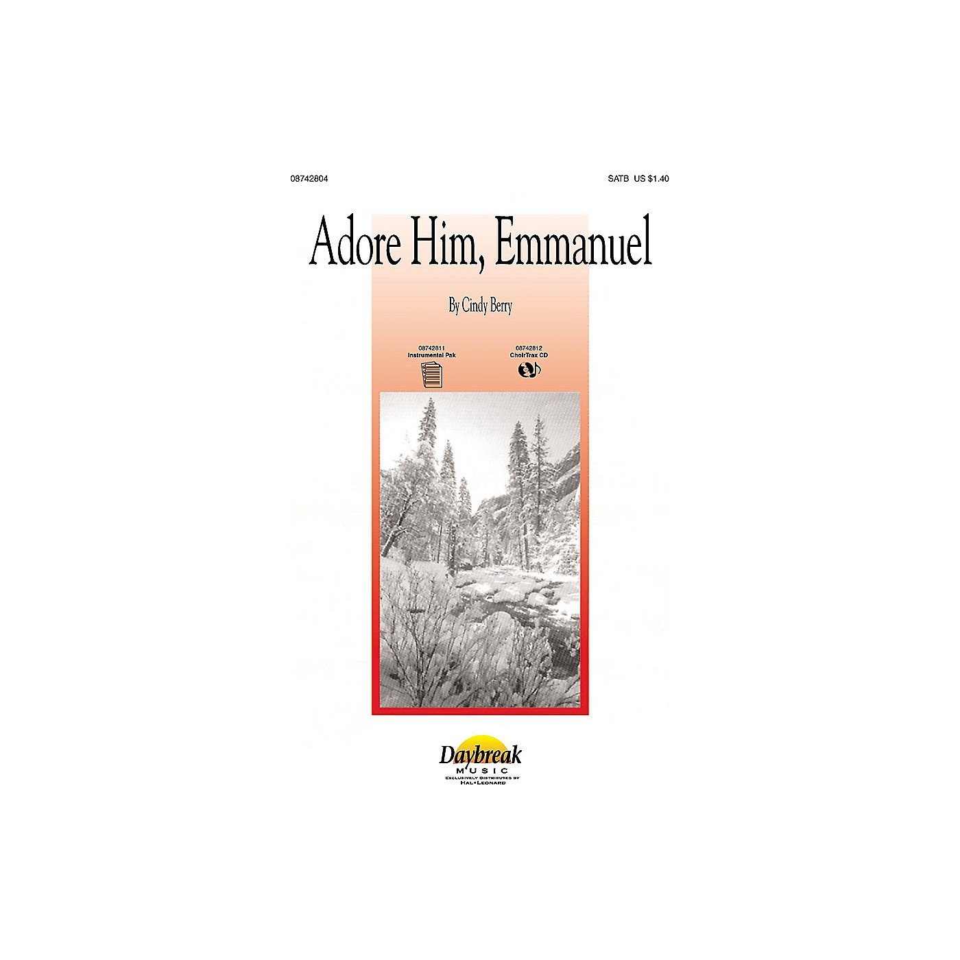 Daybreak Music Adore Him, Emmanuel SATB composed by Cindy Berry thumbnail