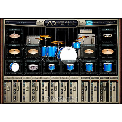 XLN Audio Adpak INDIE Addictive Drums Expansion Pack thumbnail