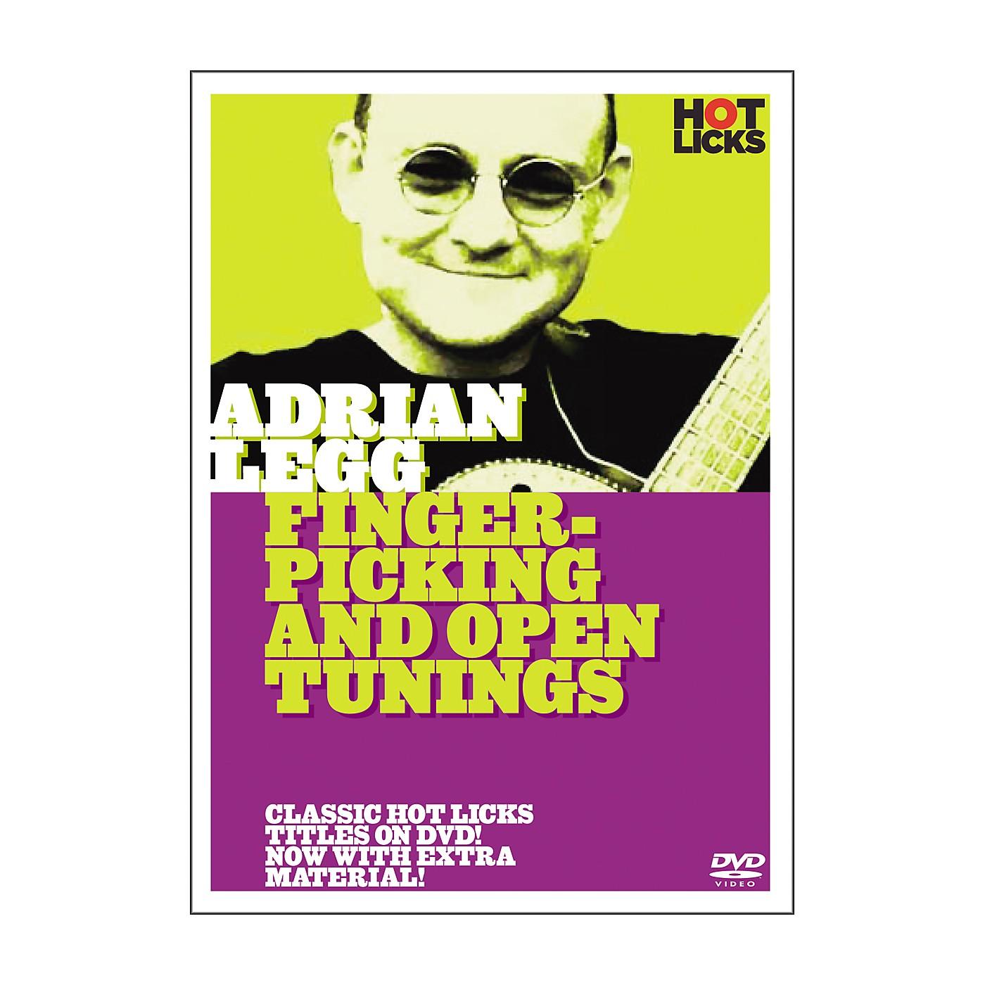 Hot Licks Adrian Legg: Fingerpicking and Open Tunings DVD thumbnail