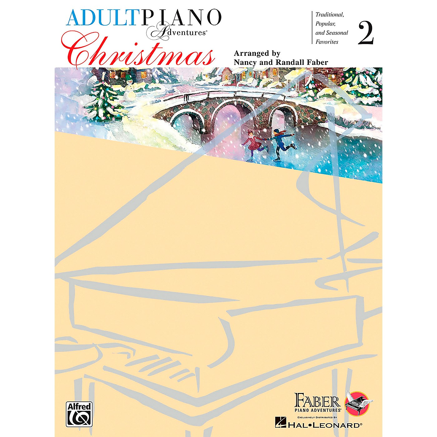 Faber Piano Adventures Adult Piano Adventures - Christmas Book 2 thumbnail