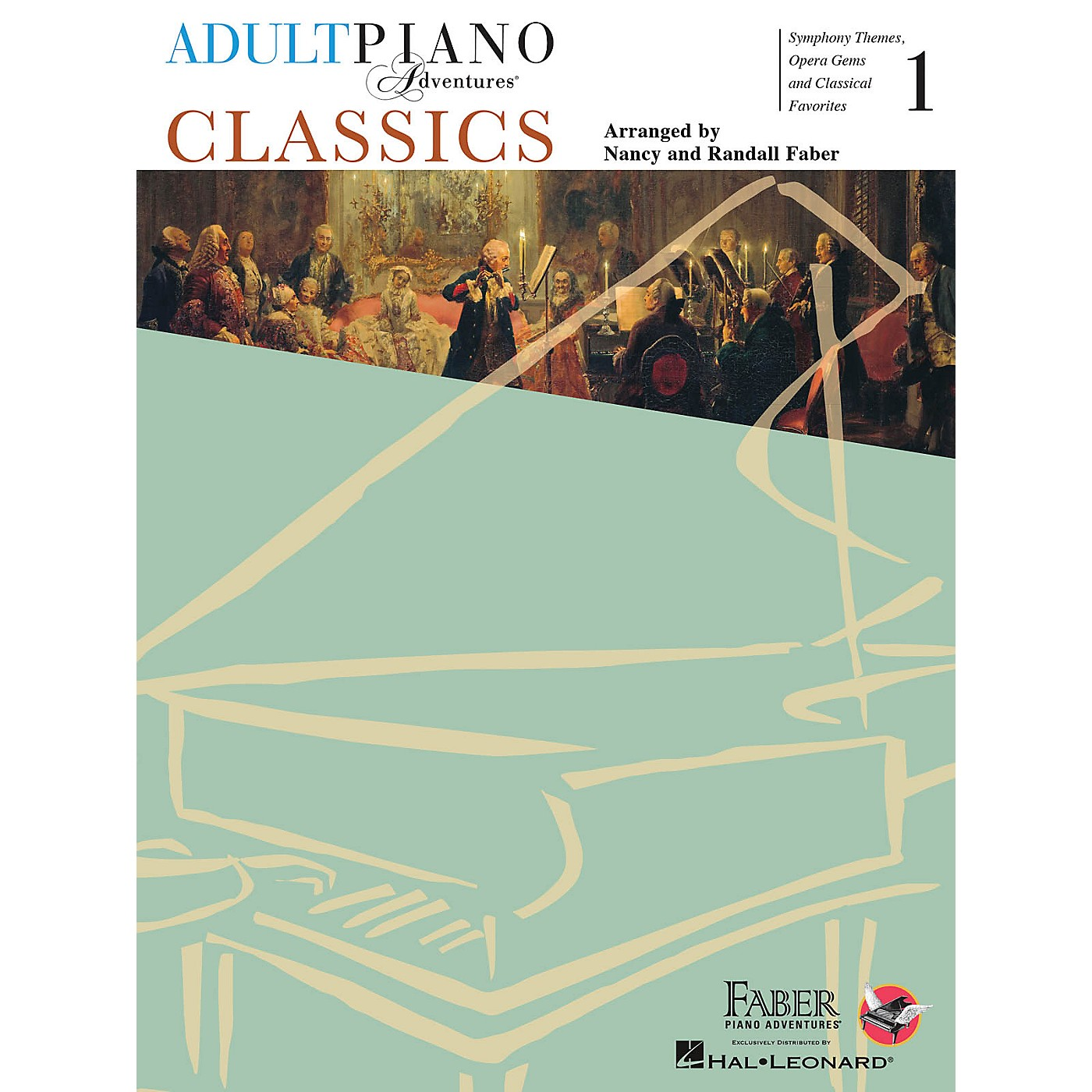 Faber Piano Adventures Adult Piano Adventures - Classics, Book 1 Faber Piano Adventures® Series Softcover thumbnail