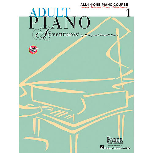 Faber Piano Adventures Adult Piano Adventures All-In-One Lesson Book 1 - A Comprehensive Piano Course - Faber Piano thumbnail