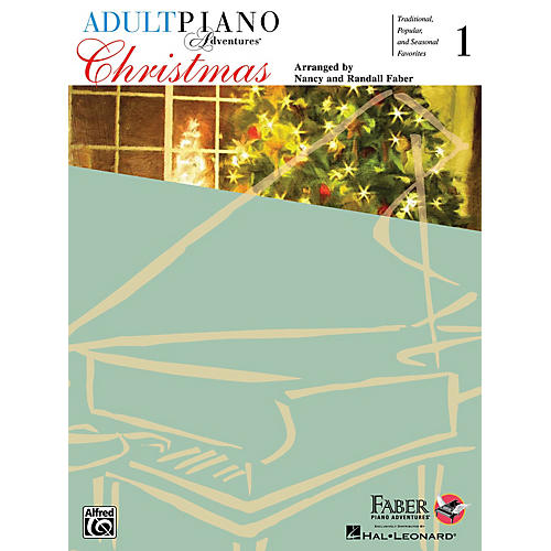 Faber Piano Adventures Adult Piano Adventures Christmas - Book 1 Book/Audio Online thumbnail