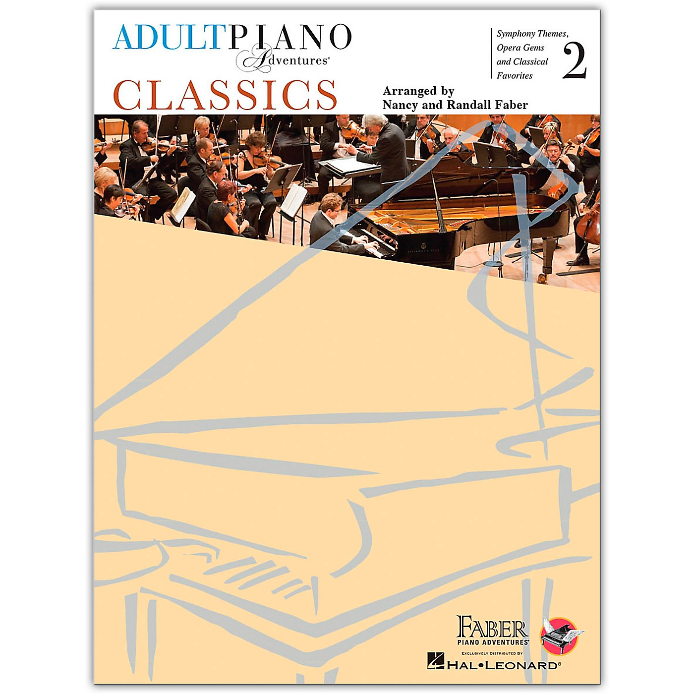 Faber Piano Adventures Adult Piano Adventures Classics Book 2 Faber Piano Adventures Series Softcover thumbnail