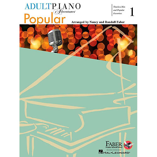 Faber Piano Adventures Adult Piano Adventures Popular Book 1 - Timeless Hits and Popular Favorites thumbnail