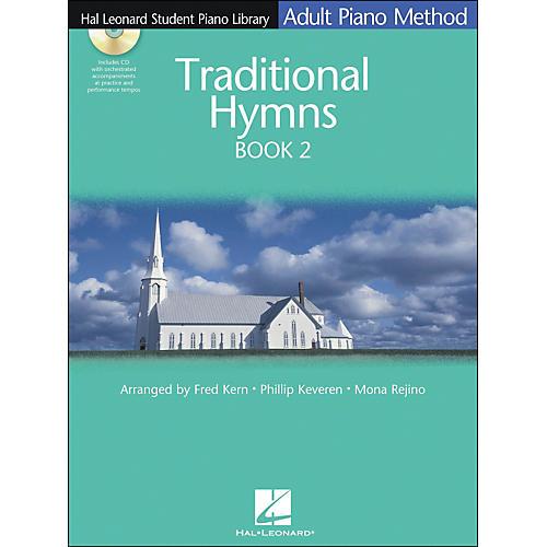 Hal Leonard Adult Piano Method Traditional Hymns Book 2 Book/CD Hal Leonard Student Piano Library thumbnail