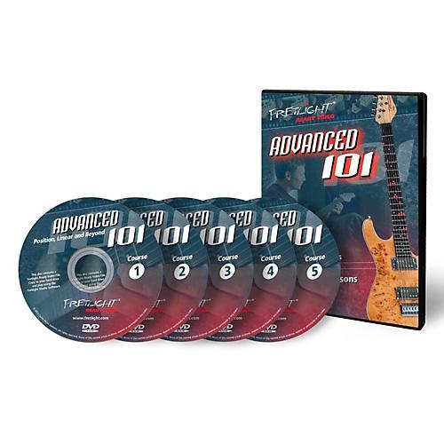 Fretlight Advanced 101 Course - Video Lessons - Advanced 101 Course Set (5 Disc) thumbnail