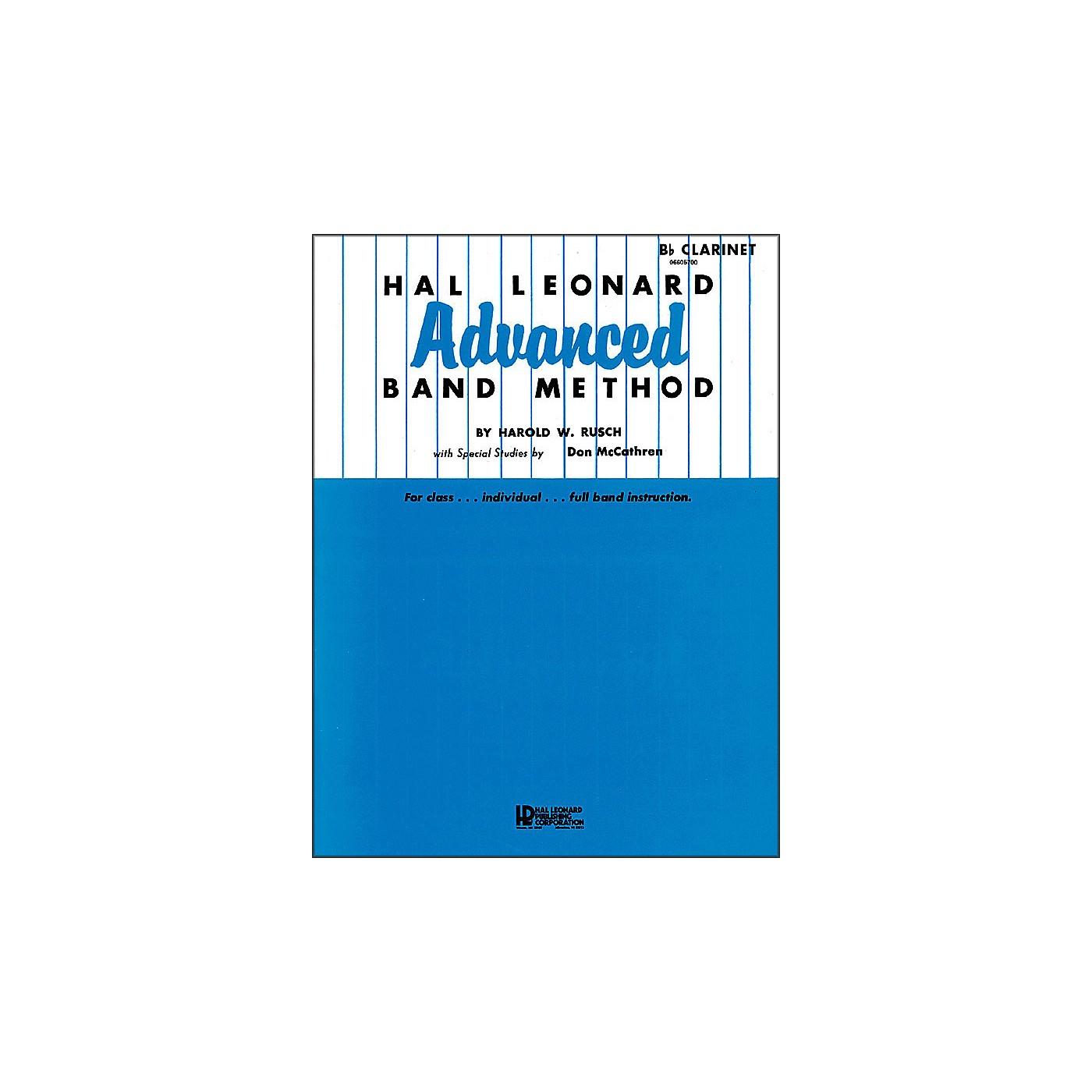 Hal Leonard Advanced Band Method - B-Flat Clarinet thumbnail