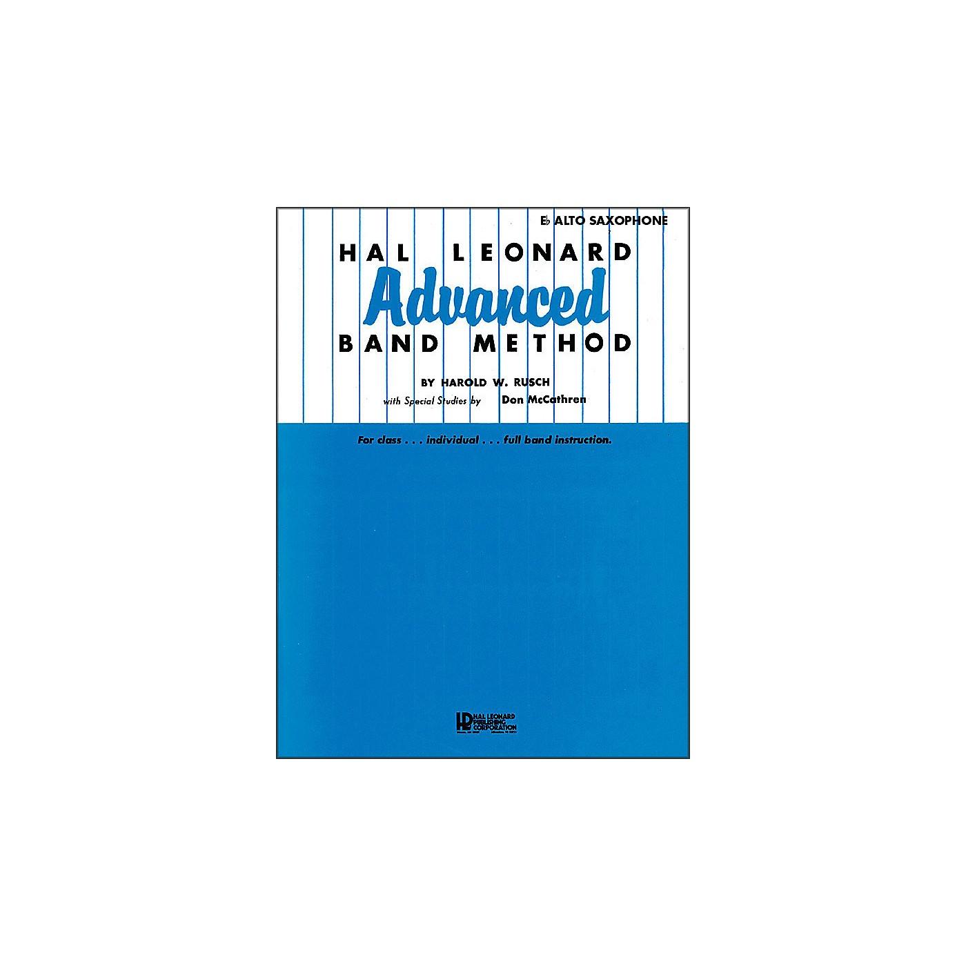 Hal Leonard Advanced Band Method -E Flat Alto Saxophone thumbnail