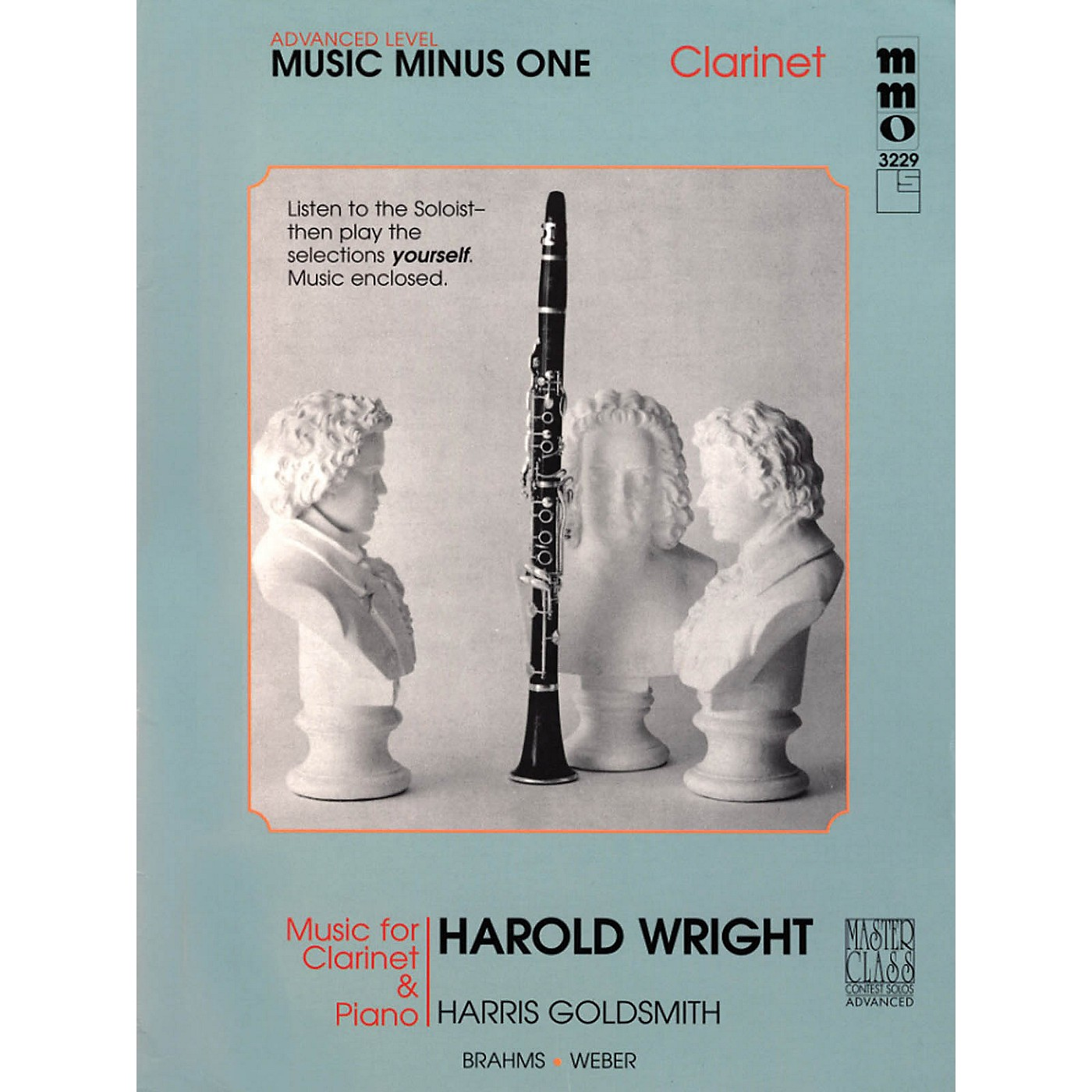 Music Minus One Advanced Clarinet Solos - Volume IV Music Minus One Series Performed by Harold Wright thumbnail