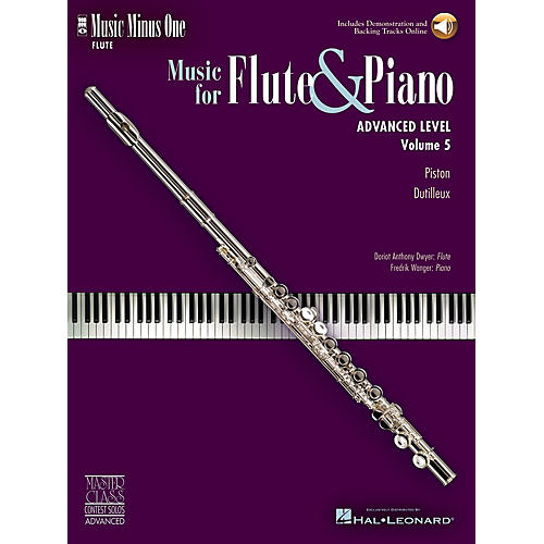 Music Minus One Advanced Flute Solos - Volume 5 Music Minus One Series Softcover with CD thumbnail