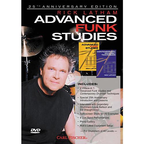 Carl Fischer Advanced Funk Studies for Drums (DVD) thumbnail