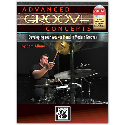 Alfred Advanced Groove Concepts Book & DVD-ROM Intermediate / Advanced thumbnail