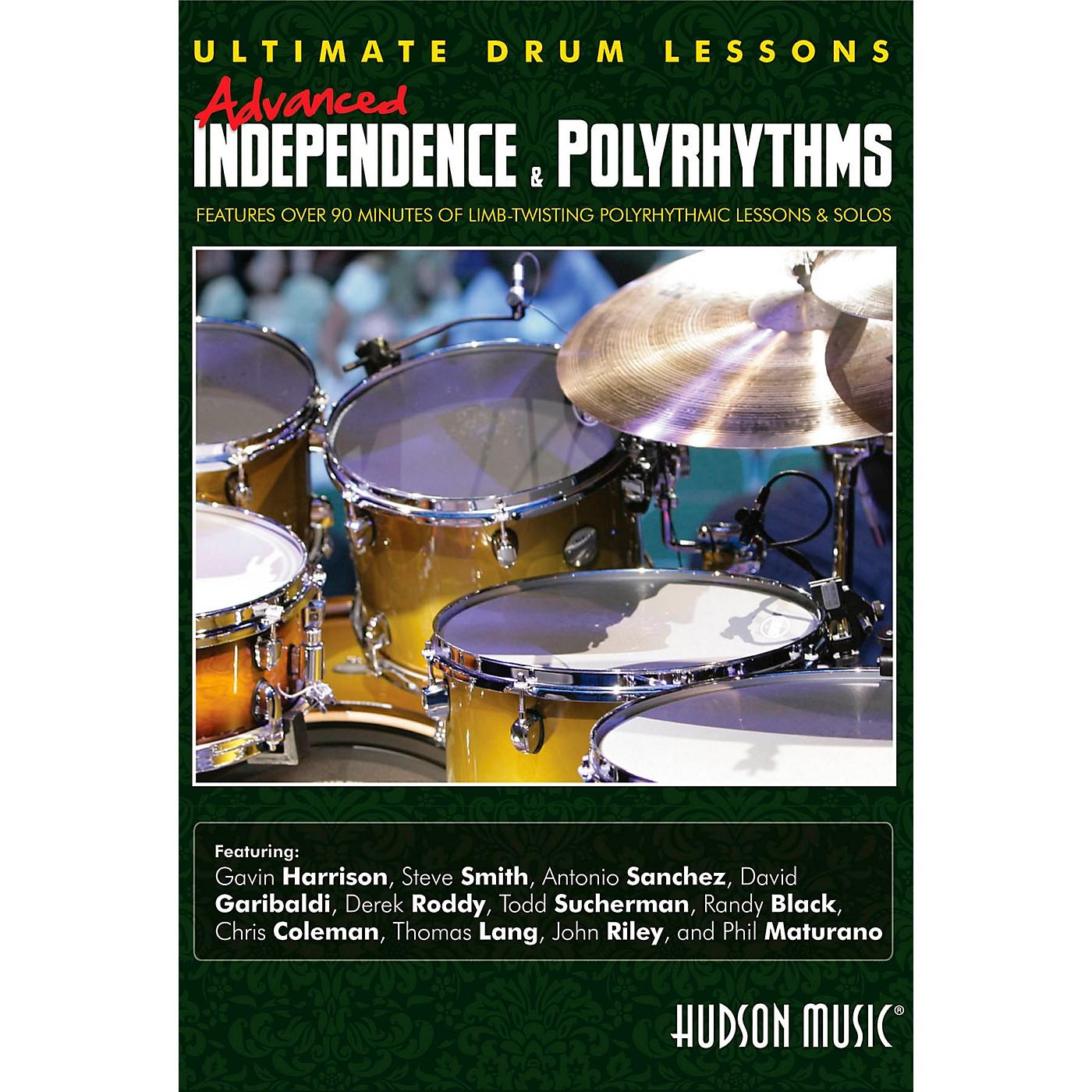 Hudson Music Advanced Independence & Polyrhythms Ultimate Drum Lessons DVD thumbnail