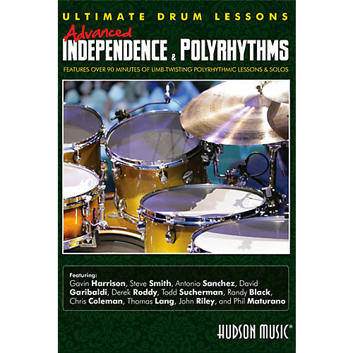 Hudson Music Advanced Independence & Polyrhythms Ultimate Drum Lessons DVD thumbnail