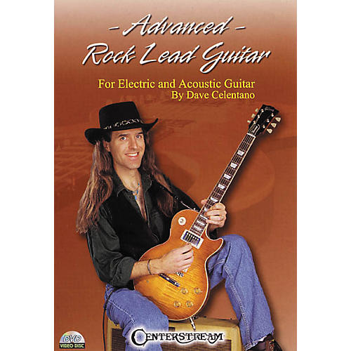 Centerstream Publishing Advanced Rock Lead Guitar (DVD) thumbnail