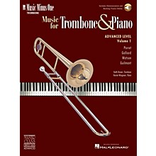 Music Minus One Advanced Trombone Solos, Volume 1 (for Trombone) Music Minus One Series Softcover with CD