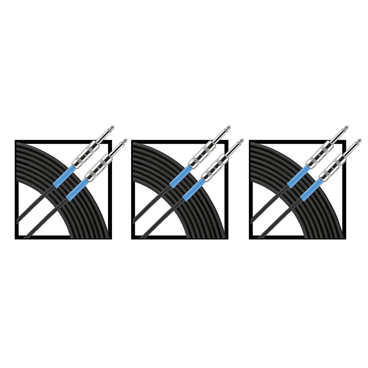 Livewire Advantage Instrument Cable Regular 10 ft. Black 3-Pack thumbnail