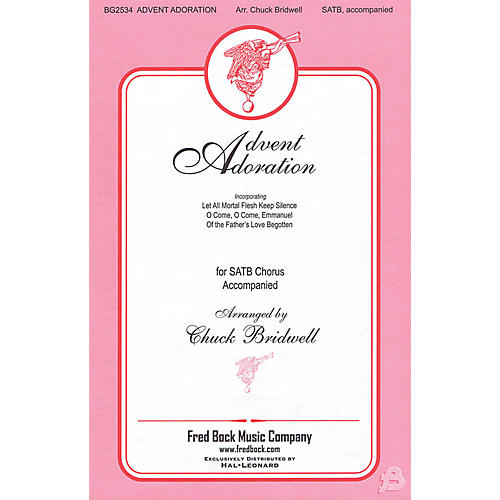 Fred Bock Music Advent Adoration SATB arranged by Chuck Bridwell thumbnail