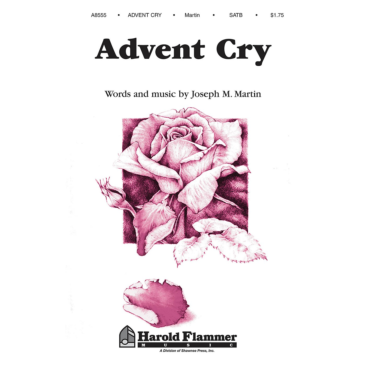 Shawnee Press Advent Cry (from The Winter Rose) SATB composed by Joseph M. Martin thumbnail