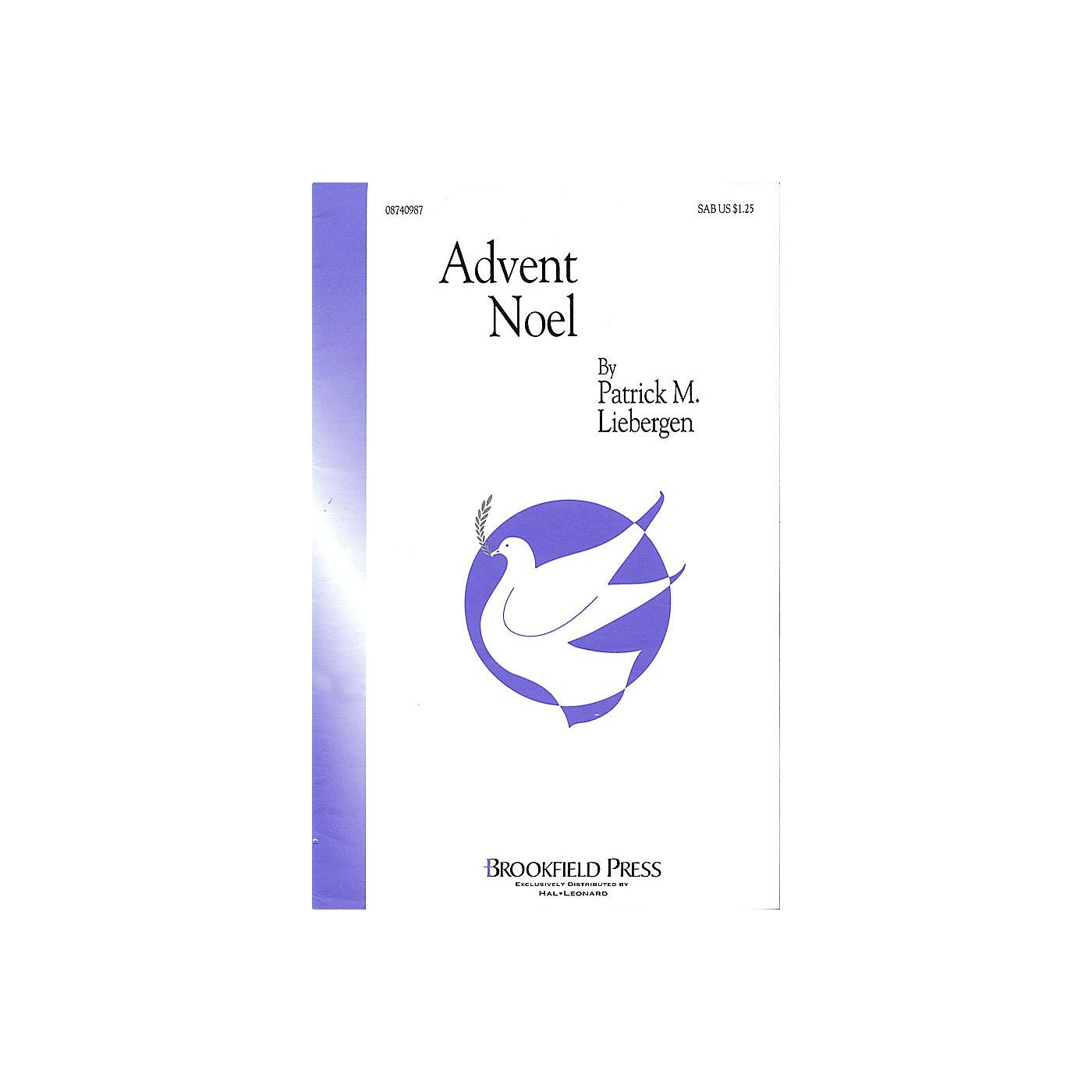 Brookfield Advent Noel SAB arranged by Patrick M. Liebergen thumbnail