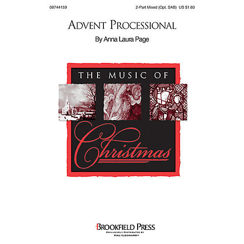Brookfield Advent Processional 2 Part Mixed composed by Anna Laura Page thumbnail