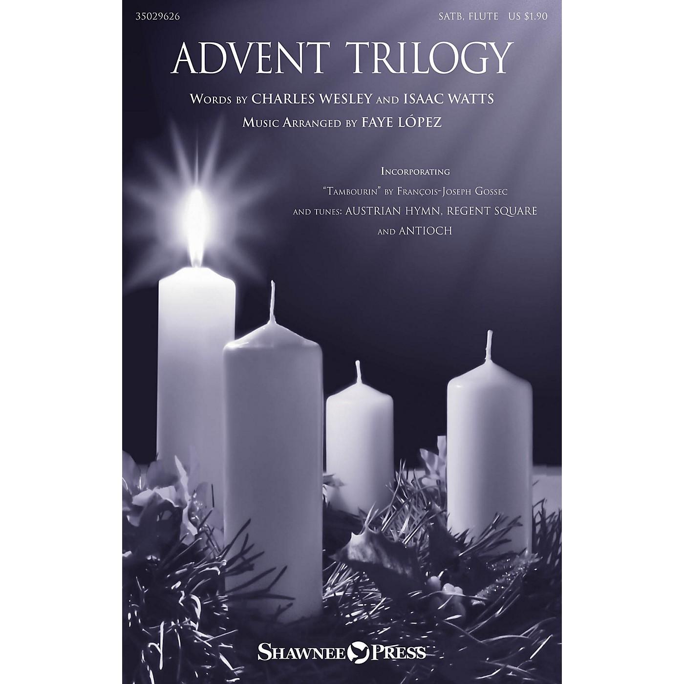 Shawnee Press Advent Trilogy SATB arranged by Faye López thumbnail