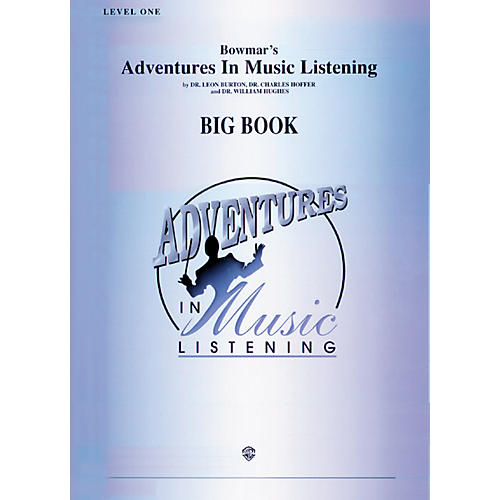 Alfred Adventures In Music Listening Big Book Level One thumbnail