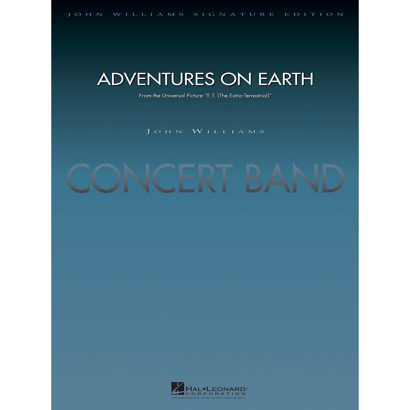 Hal Leonard Adventures on Earth (from E.T. The Extra-Terrestrial) Concert Band Level 5 Arranged by Paul Lavender thumbnail