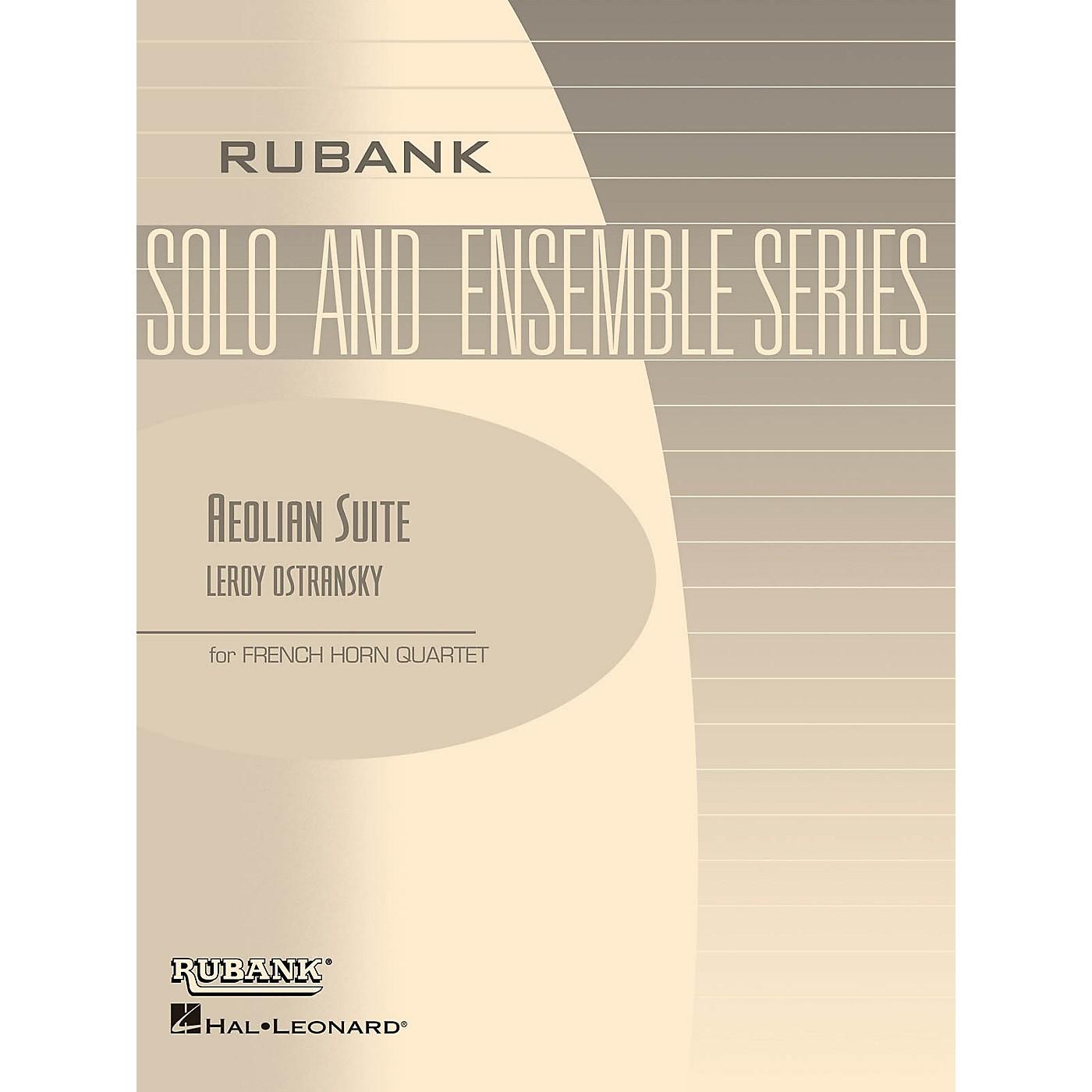 Rubank Publications Aeolian Suite (Horn Quartet - Grade 3) Rubank Solo/Ensemble Sheet Series thumbnail