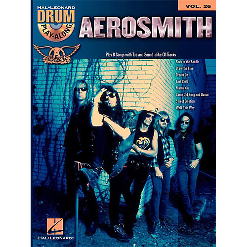 Hal Leonard Aerosmith - Drum Play-Along Volume 26 Book/CD-thumbnail