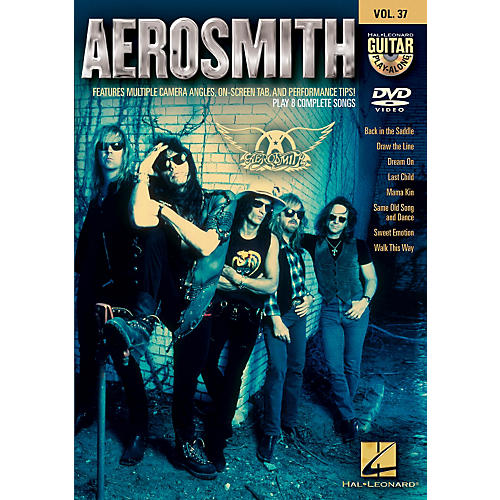 Hal Leonard Aerosmith - Guitar Play-Along DVD Volume 37 thumbnail