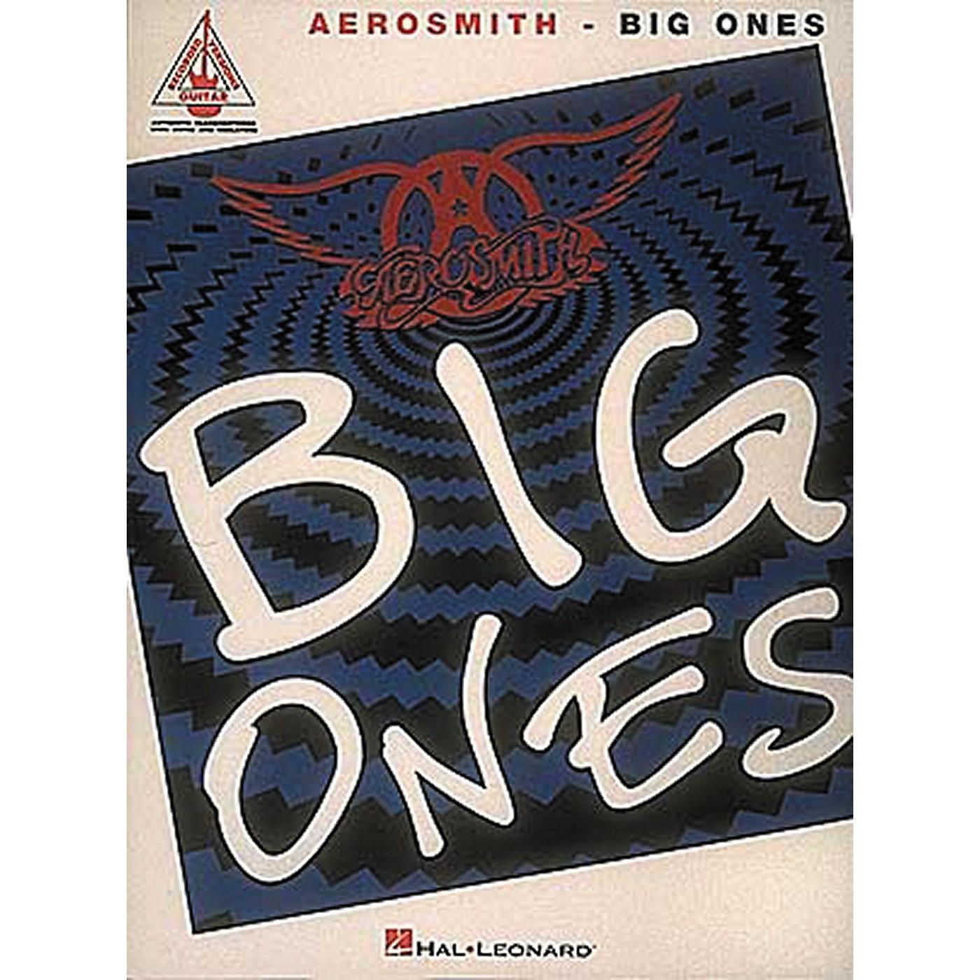Hal Leonard Aerosmith Big Ones Guitar Tab Songbook thumbnail