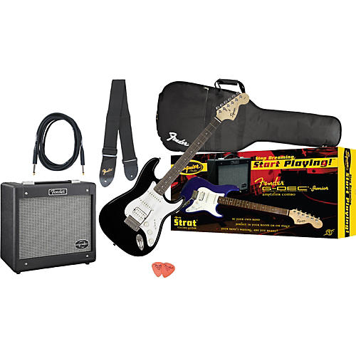Squier Affinity Strat HSS and G-DEC Junior Amp Value Pack-thumbnail