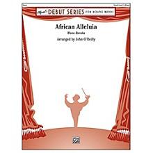 Alfred African Alleluia Concert Band Grade 1 Set