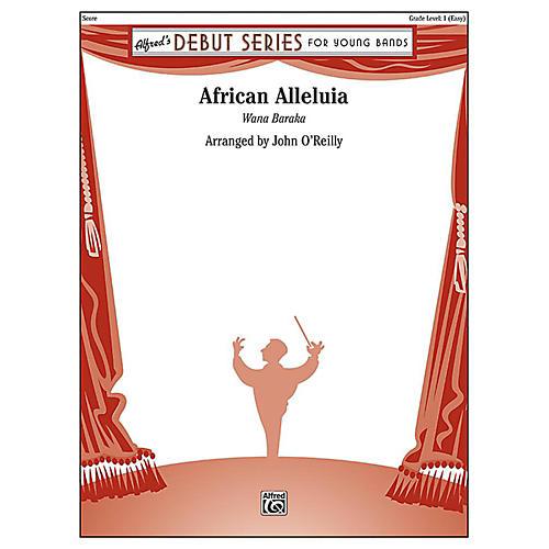 Alfred African Alleluia Concert Band Grade 1 Set thumbnail