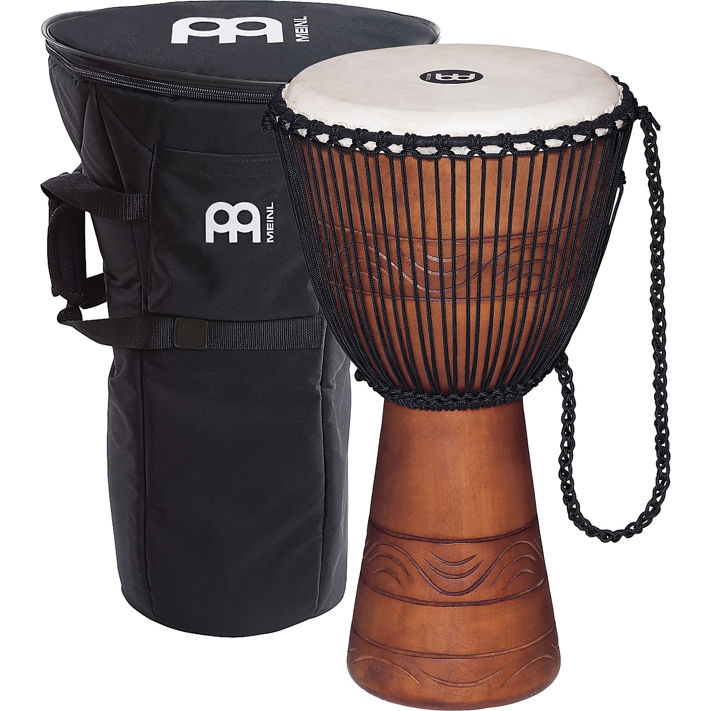 Meinl African Djembe with Bag thumbnail