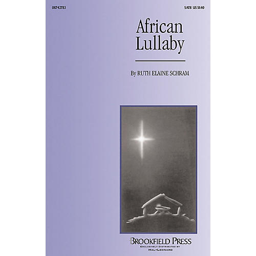 Brookfield African Lullaby 2-Part Arranged by Ruth Elaine Schram thumbnail