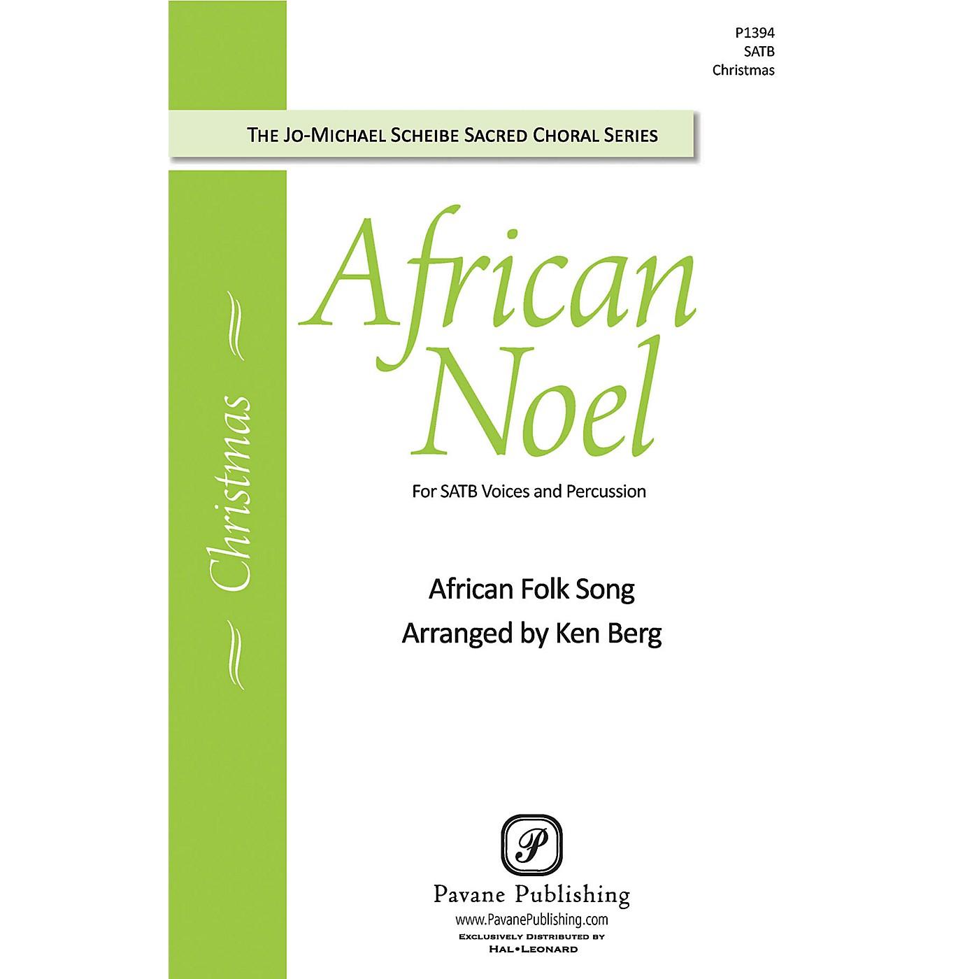 Pavane African Noel SATB arranged by Ken Berg thumbnail