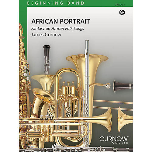 Curnow Music African Portrait (Grade 1 - Score Only) Concert Band Level 1 Composed by James Curnow thumbnail