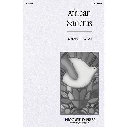 Brookfield African Sanctus SATB thumbnail