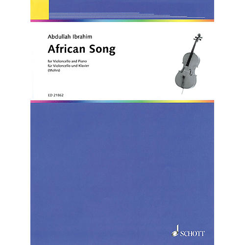 Schott African Song (for Cello and Piano) String Series Softcover thumbnail