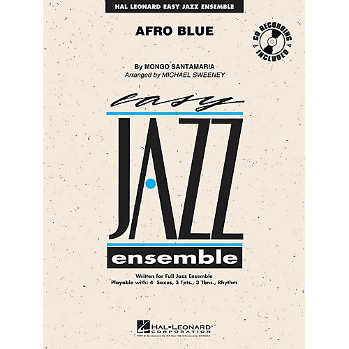 Hal Leonard Afro Blue Jazz Band Level 2 by John Coltrane Arranged by Michael Sweeney thumbnail