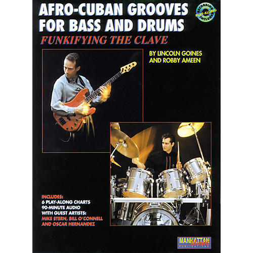 Alfred Afro-Cuban Grooves For Bass and Drums: Funkifying The Clave Book/CD thumbnail