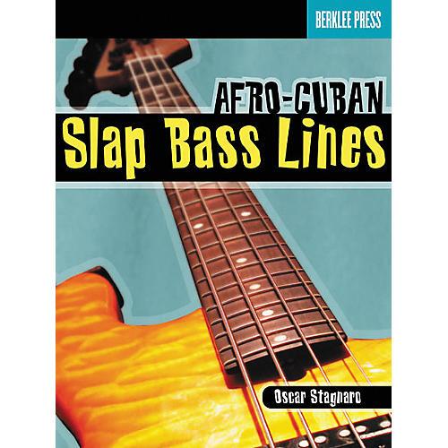 Berklee Press Afro-Cuban Slap Bass Lines (Book/CD) thumbnail