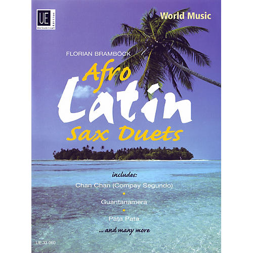 Theodore Presser Afro-Latin Sax Duets (Book + Sheet Music) thumbnail