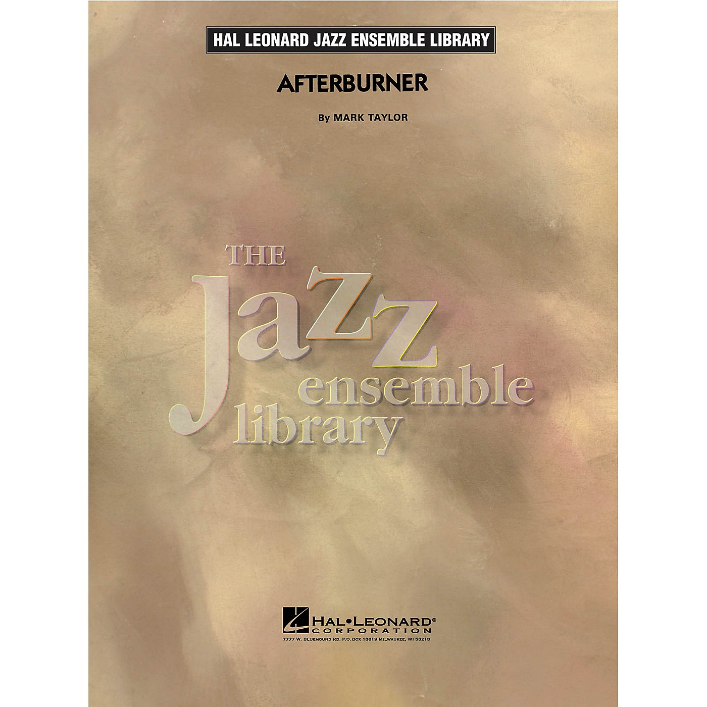 Hal Leonard Afterburner Jazz Band Level 4 Composed by Mark Taylor thumbnail